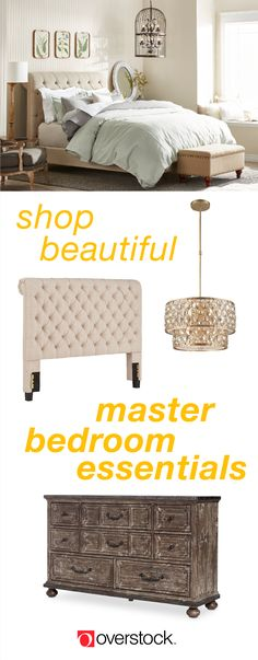Browse an impressive selection of stylish master bedroom furniture at Overstock.com. Plus, shop thousands of products, including gorgeous beds, nightstands, and more, at the lowest prices. Overstock.com -- All things home. All for less.