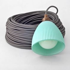 Anthracite grey textile cable by Cablelovers