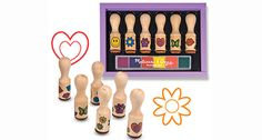 Melissa & Doug Toys - Stamp Set - FREE SHIPPING ON ALL ORDERS!!