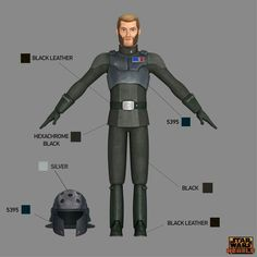Learn the correct shades and hues for your Imperial-style Star Wars Rebels costume -- straight from the show's creators. Nave Star Wars, Star Wars Art, Female Stormtrooper, Lucas Arts, Star Wars Characters Pictures, Galactic Republic, Star Wars Costumes, Original Trilogy, Star Wars Rebels