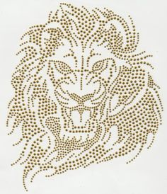 rhinestone lion appliques - Google Search