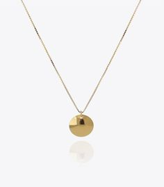ANCHOR // Sterling silver, gold plated with 22 karat // Katrine Nexø Jewellery