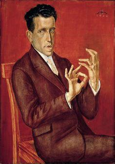 Self Portrait, 1927 - Christian Schad