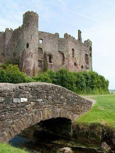 Laugharne Castle - Carmarthenshire, Wales