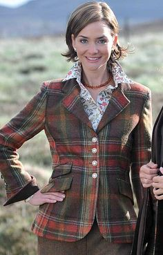 Tweed Hacking Jacket from House of Bruar