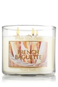 It's bread candle. 'Nuff said. French Baguette 14.5 oz. 3-Wick Candle - Slatkin & Co. - Bath & Body Works
