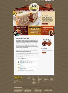 2013 Silver ADDY® Award Winner – Interactive Media, Consumer Websites, HTML TooJay's Original Gourmet Deli, TooJay's Original Gourmet Deli Website (2 of 2)