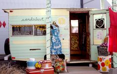 Wanderlust.-- Portland, OR What is more perfect than a vintage trailer selling vintage merchandise!? PopUp Republic