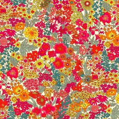 A glorious floral print from Liberty of London, Margaret Annie is reminiscent of a summer meadow in full bloom. Description from etsy.com. I searched for this on bing.com/images