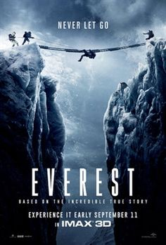 Tap Poster to detail you can Watch Full Everest For Free - Watch HD Quality Movies Online Jason Clarke, Jake Gyllenhaal, We Movie, Film Movie, Movies To Watch, Good Movies, Movies Free, Films Hd, Hd Movies Download