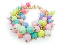 Damska Bransoletka ZARKA bubble Candy EdiBazzar Beaded Bracelets, Jewelry, Fashion, Moda, Jewlery, Jewerly, Fashion Styles, Pearl Bracelets, Schmuck