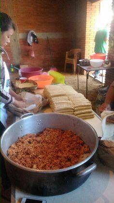 Tacos dorados enchilados,zaachila oax.
