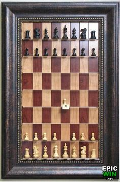 Cool Vertical Chess Board - Epic Win