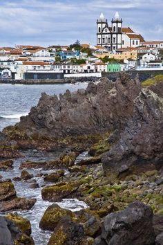 Sao Mateus da Calheta Terceira, Azores, Portugal. Foto de archivo - 6943159