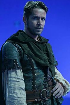 Robin Hood, love his Enchanted Forest look (okay I like all of his looks, but this costume was really cool)