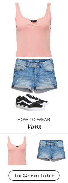 """Untitled #2948"" by anisaortiz on Polyvore featuring Vans"
