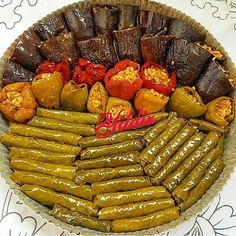 Image may contain: food Turkish Recipes, Italian Recipes, Ethnic Recipes, Iftar, Greek Dinners, Dinner Party Recipes, Fresh Fruits And Vegetables, Arabic Food, Food And Drink
