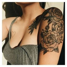 Black Ink Tattoos ❤ liked on Polyvore featuring accessories and body art