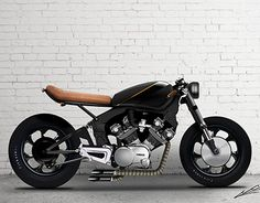 Yamaha XV 750 cafe racer