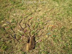 Disegnare un albero di Bruno Munari