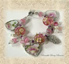 Broken China Bracelet  Broken China by brambleberrybracelet, $42.50