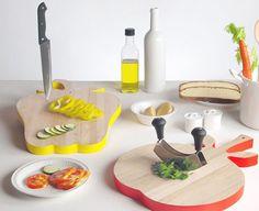 Allegria e colore in cucina con Vege-Table, la serie di taglieri in legno by Seletti. http://living.corriere.it/catalogo/prodotti/Seletti/Vege-Table.shtml