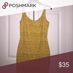 BeBe Sequined Dress Sunshine!!! bebe Dresses Mini