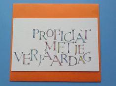 Proficiat Magda De Gryse eigen werk