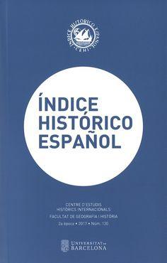 ÍNDICE HISTÓRICO ESPAÑOL