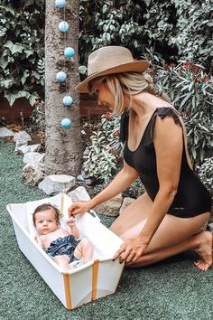 Get your swimwear out and your #StokkeFlexiBath into the garden - time to enjoy summer days at home with the family 📸: @nikavission  Here are some features: 1. Foldable 2. Lightweight & portable 3. Award-winning space saving design 4. Newborn Support gives additional comfort for your baby 5. Non-slip base  6. Plug for easy draining 7. Combinable with the Stokke Flexi Bath Stand to avoid kneeling on the floor  #BathTub #FoldableBath #Staycation #Ideas #Family  #BabyRegistry #BabyShowerGifts Enjoy Summer, How To Get Warm, Kids Branding, Summer Baby, Baby Registry, Baby Essentials, Staycation, Bath Time, Space Saving