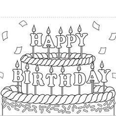 print out coloring birthday cards print this birthday coloring card out for your little artists - Printable Coloring Birthday Cards