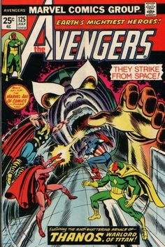 Titanic Troubles, Part 3:  Avengers 125  Auction your comics on http://www.comicbazaar.co.uk