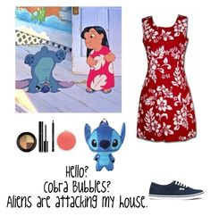 """""""Lilo Pelekai"""" by mysterylullaby on Polyvore featuring Vans, Chanel, Givenchy, Topshop, MAC Cosmetics and Disney"""