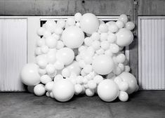 """These balloon invasions are metaphors,"" said the artist. ""Their goal is to change the way in which we see the things we live alongside each day without really noticing them."""