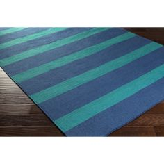 Essentials for creating outdoor living space! #1.Set the stage with an beachy outdoor rug http://ht.ly/LclnF sealife, stripes, nautical