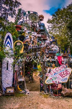 "Cathedral Of Junk - Austin, TX, by someone who thinks the ""Keep Austin Weird"" slogan is a command, not an option."