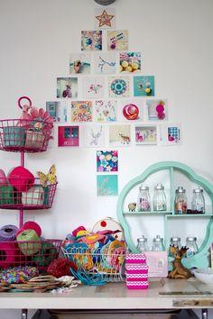 Gatherings Magazine Market Editor @Trisha Brink Trisha Brink shares her home on our blog.  #craftroom