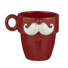 Cheers By Studio 100 Mustache Mugs By Grasslands Road Mustache Style 2