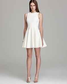 Tibi Sleeveless Dress - Ponte   Bloomingdales $475 and 20% off