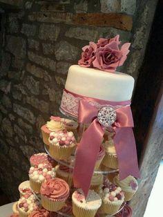 Cupcake Wedding Cake....