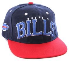 8a7970f9 Contrast color brim and button; white eyelets as a design feature | NFL  Buffalo Bills