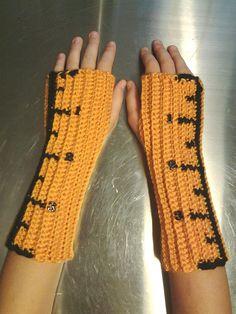 RULER Arm warmers / Fingerless gloves / wrist warmers