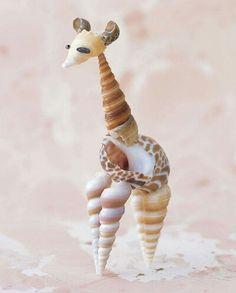 Seashell giraffe