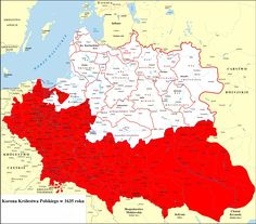 Crown of the Kingdom of Poland - Wikipedia Poland Map, Political Reform, Poland History, Ottoman Turks, Frederick William, Country Art, Historical Maps, Middle Ages, Crown