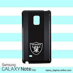 Oakland Raiders Samsung Galaxy Note EDGE Case Cover
