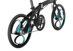 La Bicicletta del futuro: molle al posto dei raggi