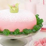 PInk princess cake - Vaaleanpunainen prinsessakakku - Reseptejä