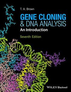Gene cloning and DNA analysis : an introduction / T.A. Brown