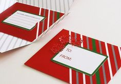 Holiday Gift Card Holder – Sometimes the Wrapping Can Be Better than the Gift Itself! Created at FedEx Office.