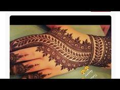 * Simple * Back Hand Mehndi Art Design 2018 | Ridah Henna Art - YouTube